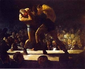 George Wesley Bellows - Club Night (or Stag Night at Sharkey's)