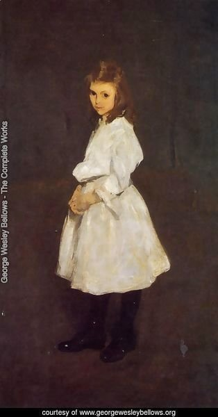 Little Girl in White (or Queenie Barnett)