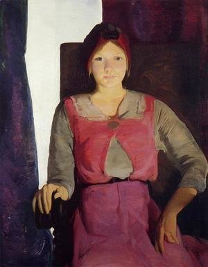 George Wesley Bellows - Garaldine Lee, No. 2