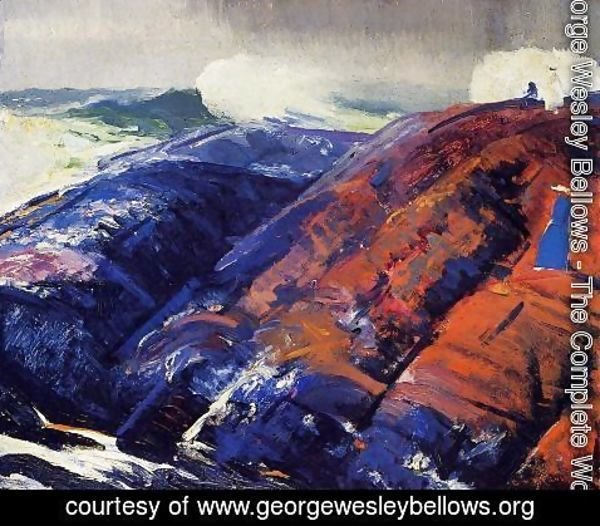 George Wesley Bellows - Summer Surf 2