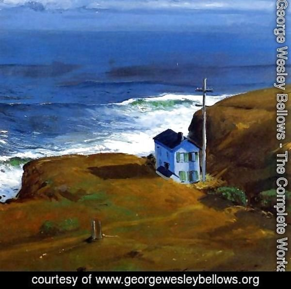 George Wesley Bellows - Shore House 1911
