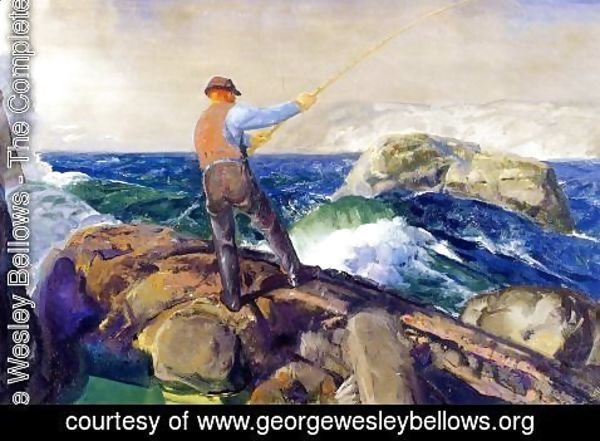 George Wesley Bellows - The Fisherman 1917