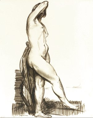 George Wesley Bellows - Nude Standing