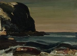 George Wesley Bellows - Evening Swells