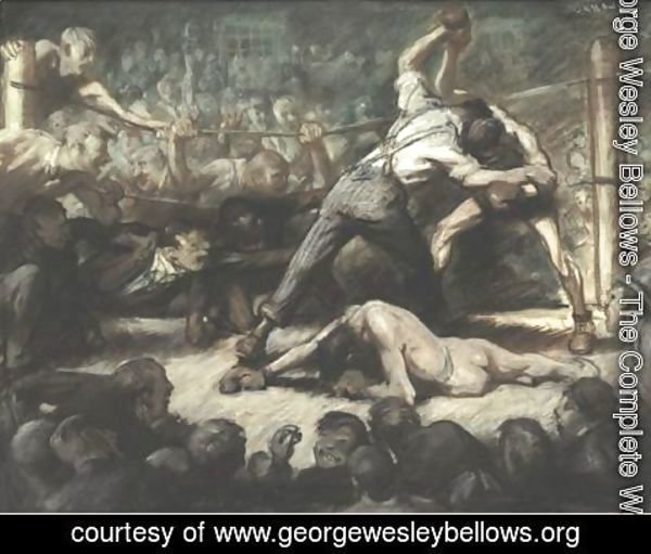 George Wesley Bellows - The Knock Out