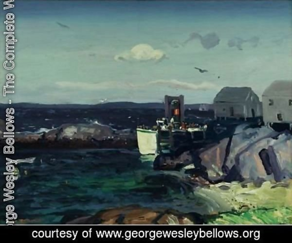 George Wesley Bellows - Boat Landing