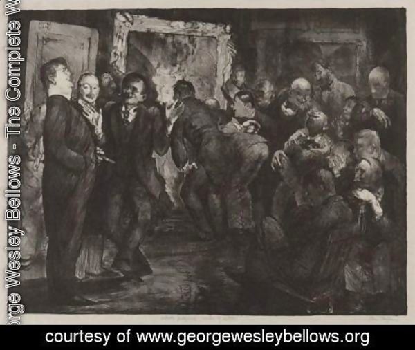 George Wesley Bellows - Artists Judging Works Of Art, Second State