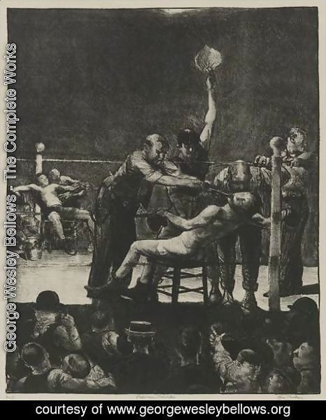 George Wesley Bellows - Between Rounds, First Stone