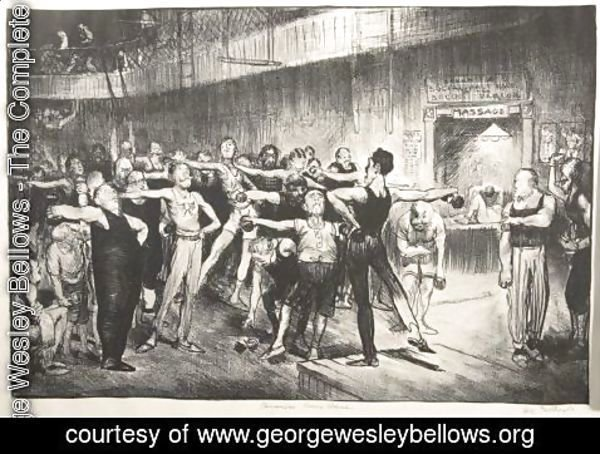 George Wesley Bellows - Business-Men's Class
