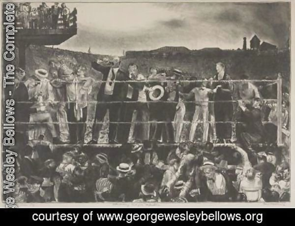 George Wesley Bellows - Introducing George Carpentier