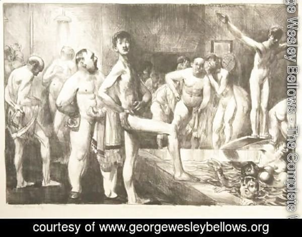 George Wesley Bellows - Business-Men's Bath