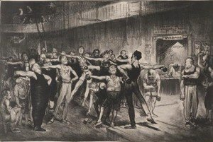George Wesley Bellows - Business-Men's Class 2