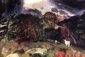George Wesley Bellows - A Wild Place