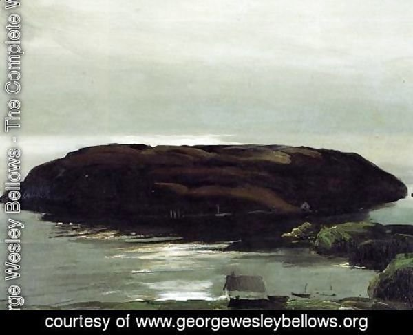George Wesley Bellows - An Island In The Sea