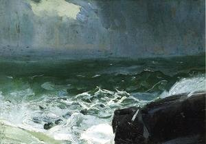 George Wesley Bellows - Approach Of Rain