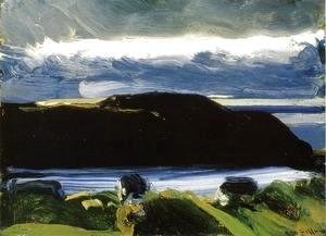 George Wesley Bellows - Breaking Sky  Monhegan