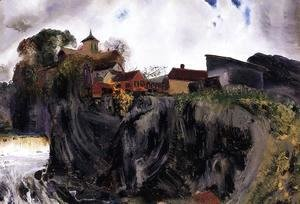 George Wesley Bellows - Cliffs At Eddyville