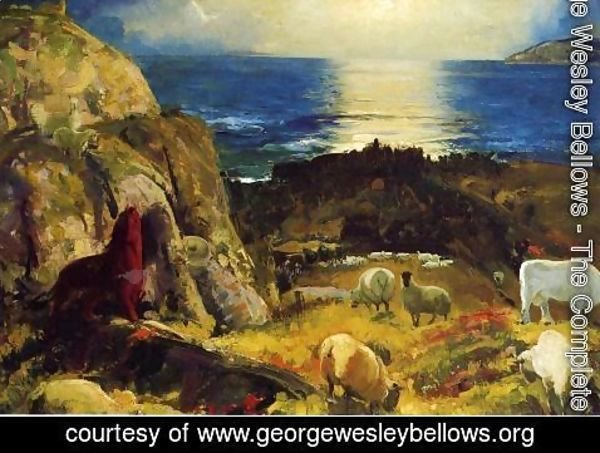 George Wesley Bellows - Criehaven  Large