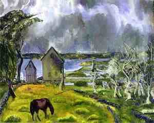 George Wesley Bellows - Dead Orchard