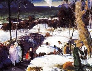 George Wesley Bellows - Easter Snow