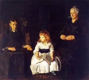 George Wesley Bellows - Elinor  Jean And Anna