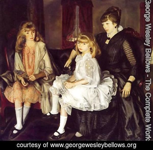 George Wesley Bellows - Emma And Her Children