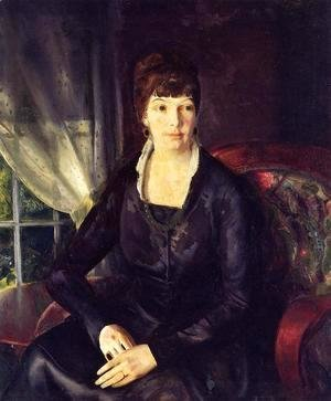 George Wesley Bellows - Emma At The Window