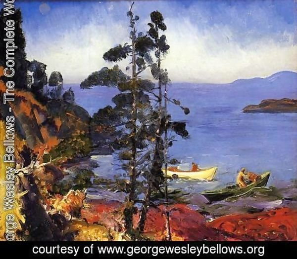 George Wesley Bellows - Evening Blue