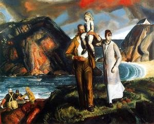 George Wesley Bellows - Fishermans Family