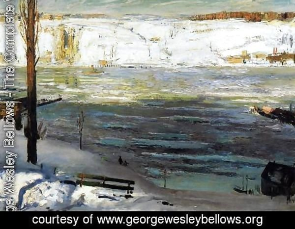 George Wesley Bellows - Floating Ice