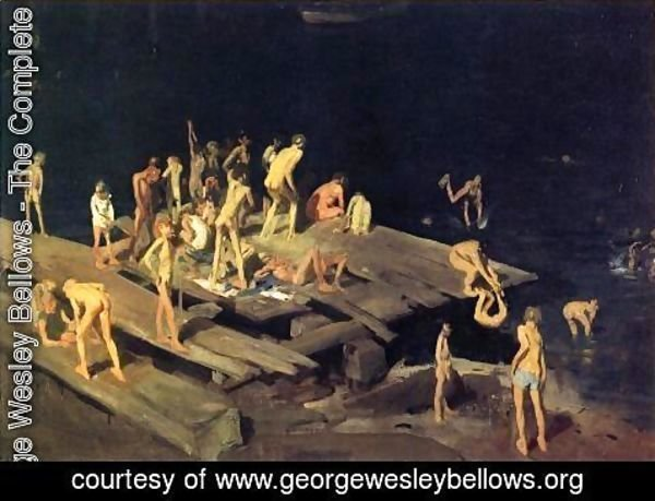 George Wesley Bellows - Forty Two Kids