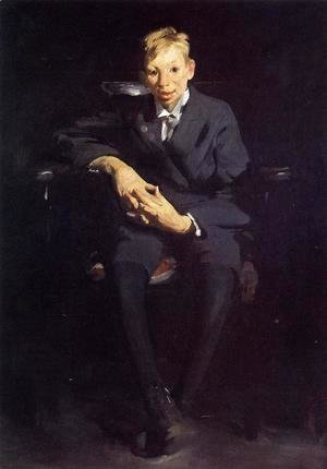 George Wesley Bellows - Frankie The Organ Boy
