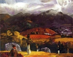 George Wesley Bellows - Golf Course   California