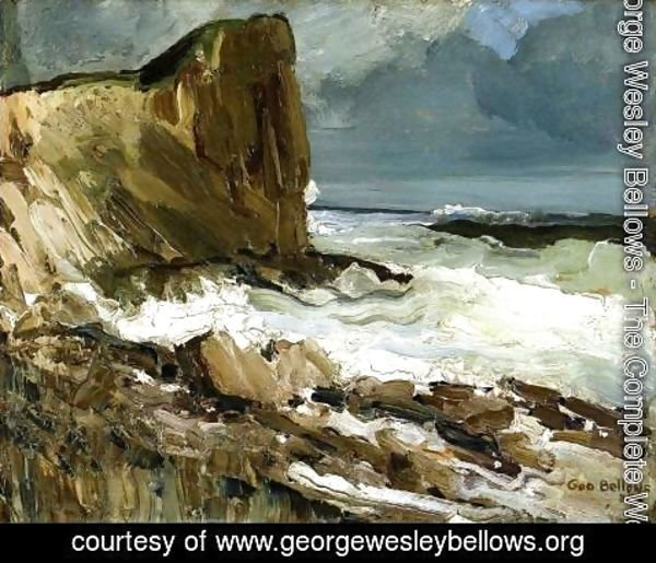 George Wesley Bellows - Gull Rock And Whitehead