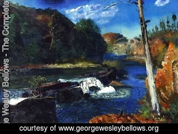 George Wesley Bellows - Mill Dam