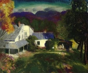 George Wesley Bellows - Mountain House