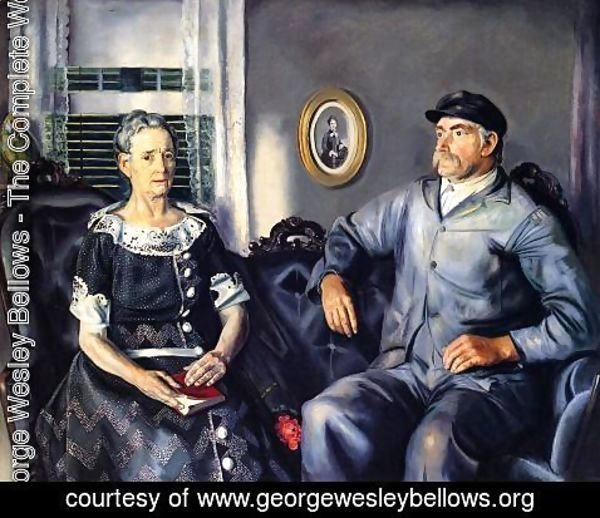 George Wesley Bellows - Mr  And Mrs Phillip Wise