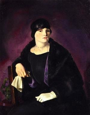 George Wesley Bellows - Mrs  Richter
