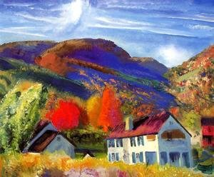 George Wesley Bellows - My House  Woodstock