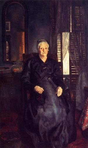 George Wesley Bellows - My Mother