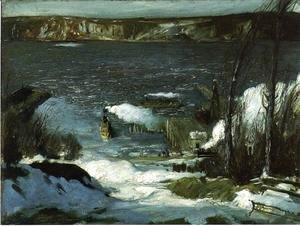 George Wesley Bellows - North River