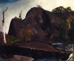 George Wesley Bellows - Old Canal  Eddyville
