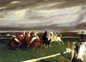 George Wesley Bellows - Polo At Lakewood