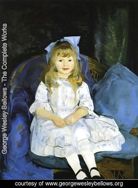 George Wesley Bellows - Portrait Of Anne