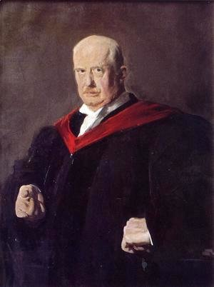 Portrait Of Dr  Walter Quincy Scott