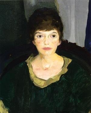 George Wesley Bellows - Portrait Of Emme In Night Light
