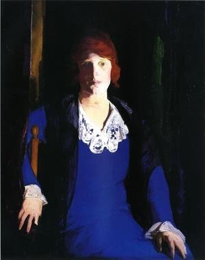 George Wesley Bellows - Portrait Of Florence Pierce