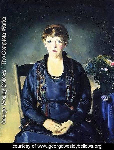 George Wesley Bellows - Portrait Of Laura