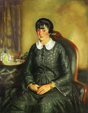 George Wesley Bellows - Portrait Of Mary McKinnon