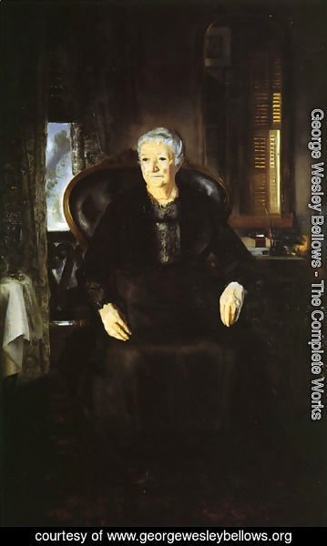 George Wesley Bellows - Portrait Of My Mother
